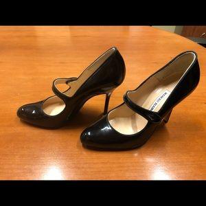 Manolo Blahnik Patent Mary Jane heels (Campy)